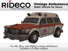 RiDECO - Vintage Ambulance