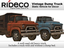 RiDECO - Vintage Dump Truck