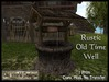 Rustic well boxedpic
