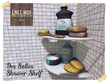 Des Salles Shower Shelf ♥ CHEZ MOI