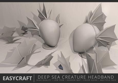 EasyCraft - Full Perm Deep Sea Creature Headband