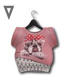 Vinyl - Sophia Top/Undershirt Pak Pink