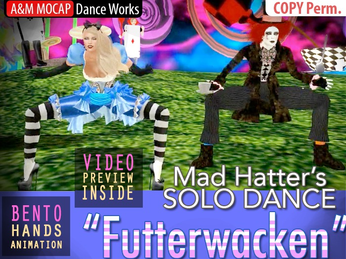 A&M: Futterwacken - Mad Hatter's dance (BENTO hands) :: #TAGS - Alice in Wonderworld, Johnny Depp