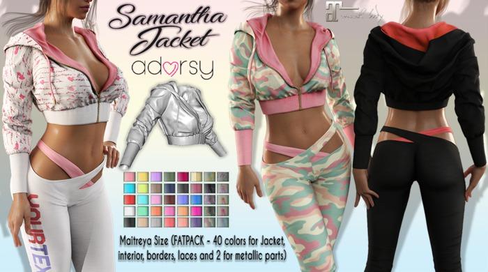 adorsy - Samantha Hoodie Jacket Fatpack - Maitreya
