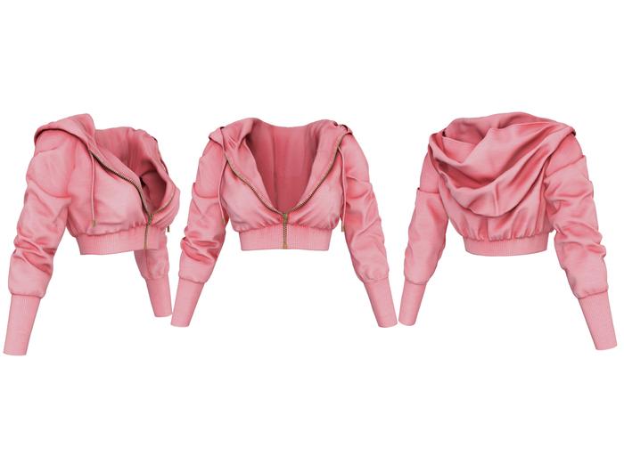 adorsy - Samantha Hoodie Jacket Pink - Maitreya