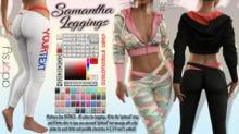 adorsy - Samantha Leggings With Custom Text Fatpack - Maitreya