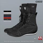 *COCO*_BoxingShoes+Socks_Black