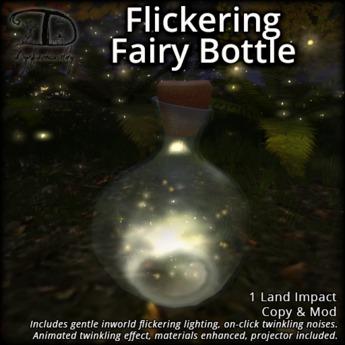 [DDD] Flickering Fairy Bottle - Animated Twinkles!