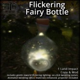 [DDD] Flickering Fairy Bottle - Animated Twinkles!