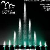 Dancing Water Fountain Light Edition Wishing Well Fountains MC