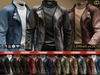 Ca promo leather jackets fat pack