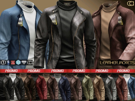 CA PROMO SAVE 75% AESTHETIC SLINK SIGNATURE COMPATIBLE JACKETS