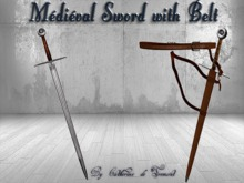 """CdT"" Medieval Sword &Belt"