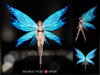 PROMO [WY] Full Perm 6 Source Files - Butterfly Wings (Bento Wings)