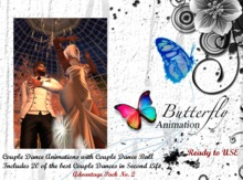 Butterfly Animation Couple Dance Ball + 20 C-Dances Part 2