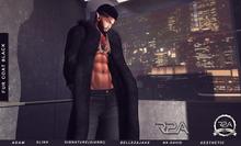 R2A BLACK FUR COAT