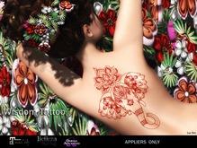 MESANGE - Wisdom Tattoo Red MAITREYA