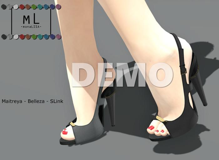 -mL- Mackenzie Heels (Belleza/Slink/Maitreya) DEMO