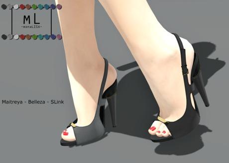 -mL- Mackenzie Heels (Belleza/Slink/Maitreya)