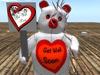 Get well soon bear 010