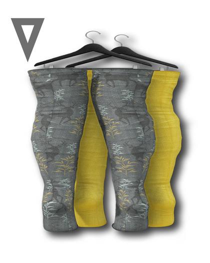 Vinyl - Sulu Legwarmers Pak Yellow
