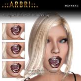.::Arbri::. Mayreal Tongue Barbell Piercing