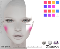 Zibska [50L Closeout] ~ Tini Blush in 9 colors with & without beautymark [Lelutka/Catwa/Omega]