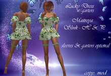 Group Gifts - Lucky  Dress & Garters - Mesh Bodies