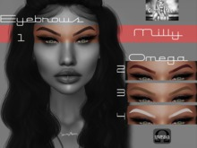 ::: GHETTO STYLE ::: Eyebrows Milly Omega Applier