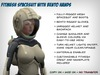 Fitmesh Spacesuit with Bento Hands - Female