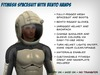 Fitmesh Spacesuit with Bento Hands - Male
