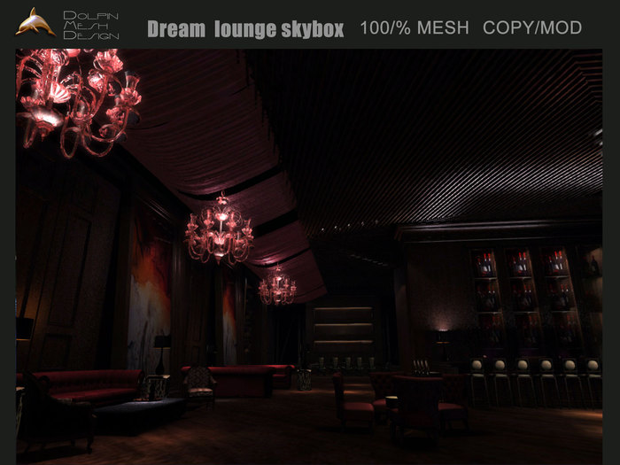 [Dolphin Design] ~Dream  lounge skybox