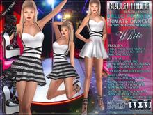 Bella Moda: Ballo Privato White Private Dancer Outfit: Maitreya/TMP/Physique/Hourglass/Isis/Venus/Freya+Std - FULL