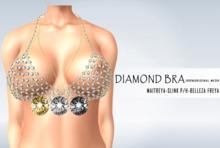 iS Diamond Chain Bra GOLD