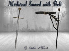 """CdT"" Medieval Sword &Belt 2"