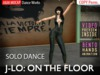 A&M: J-Lo - On The Floor - solo dance (BENTO hands) :: Improvisation to Jennifer Lopez's song 'On The Floor'