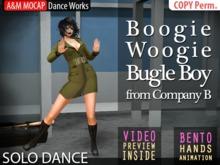 A&M MOCAP - Boogie Woogie Bugle Boy SOLO DANCE (transfer)