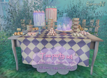 Tea party - full set