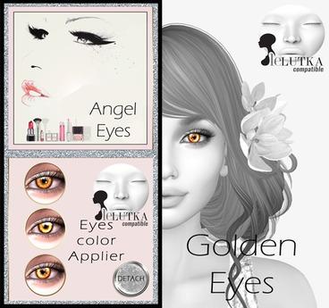 [AE] Lelutka Golden Eyes