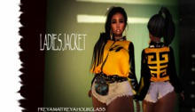 LR` LADIES JACKET {MANGO}