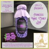 Princess M&Ms-Purple Jar