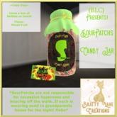 SourPatchs Candy Jar