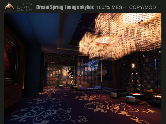 [Dolphin Design] ~Dream Spring  lounge skybox