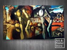 Metamorphosis of Narcissus SALVADOR DALI| Unframed Canvas