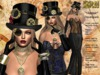 **MARMAR STEAMPUNK GOWN STYLE COMPLET OUTFIT **