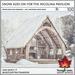 Trompe Loeil - Snow Add-On for the Nicolina Pavilion [mesh]
