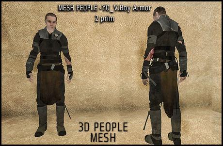 Fantasy Boy Armor