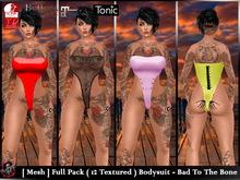 [ Mesh ] Full Pack ( 12 Textured ) Bodysuit - Bad To The Bone