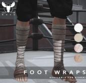 -MUSU- Foot Wraps Male