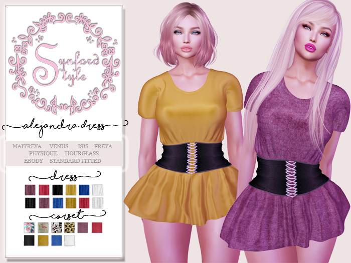 SS* Alejandra Dress {Add / Wear}